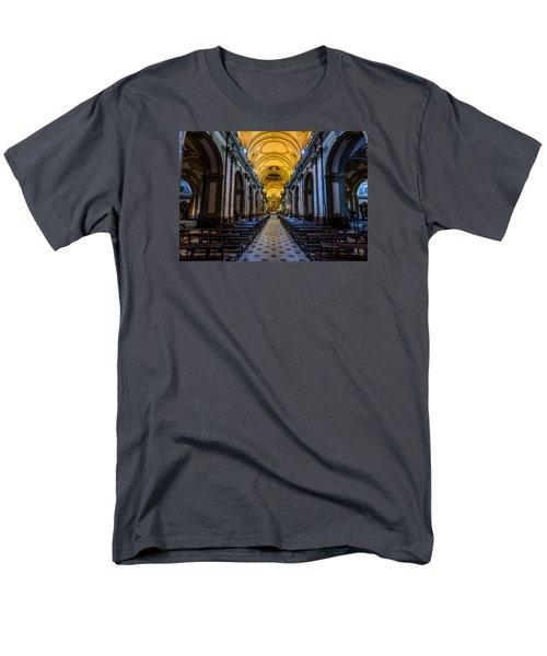 Buenos Aires Metropolitan Cathedral Men's T-Shirt  (Regular Fit) by Randy Scherkenbach