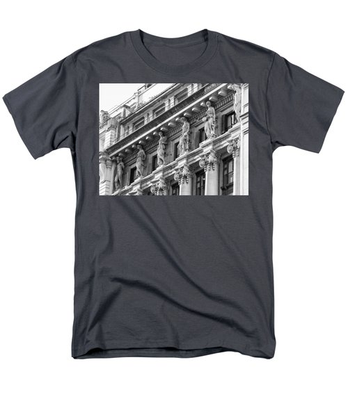 Men's T-Shirt  (Regular Fit) featuring the photograph Building by Silvia Bruno