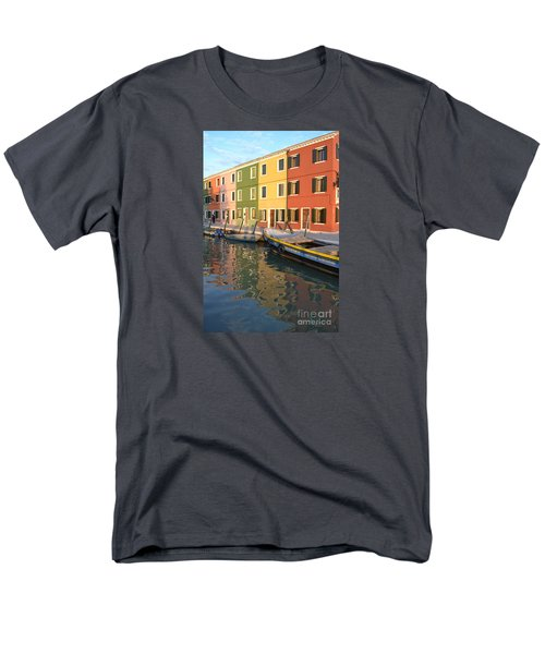 Men's T-Shirt  (Regular Fit) featuring the photograph Burano Italy 1 by Rebecca Margraf