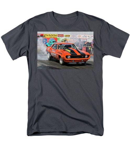 Burn Out Cooper Racing Men's T-Shirt  (Regular Fit) by John Swartz