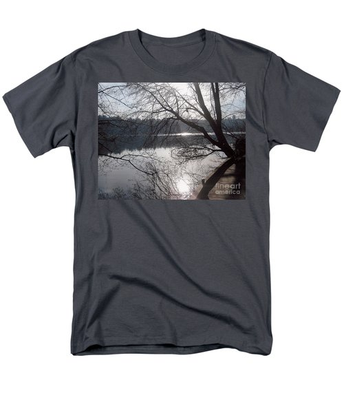 Men's T-Shirt  (Regular Fit) featuring the photograph Burnaby Walk by Kim Prowse