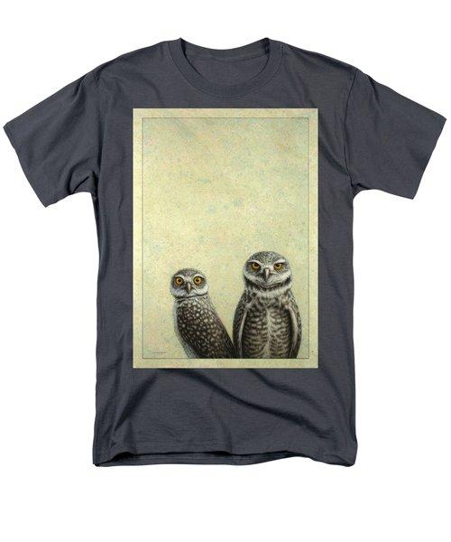 Burrowing Owls Men's T-Shirt  (Regular Fit)