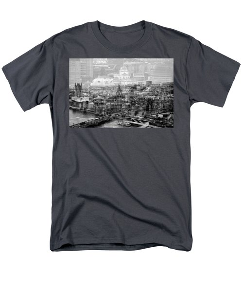 Busy London Men's T-Shirt  (Regular Fit) by Karen McKenzie McAdoo