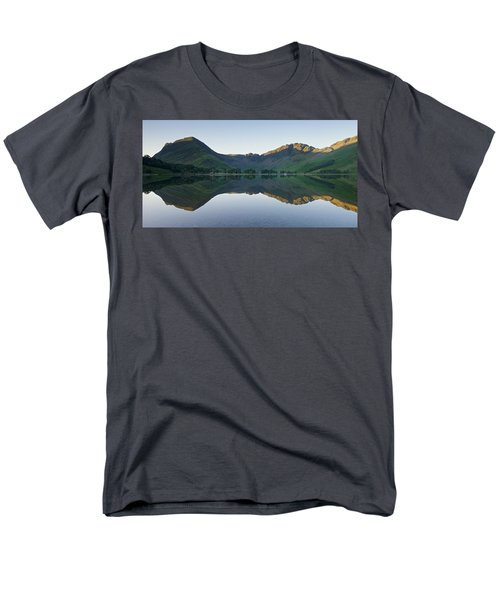 Buttermere Reflections Men's T-Shirt  (Regular Fit) by Stephen Taylor