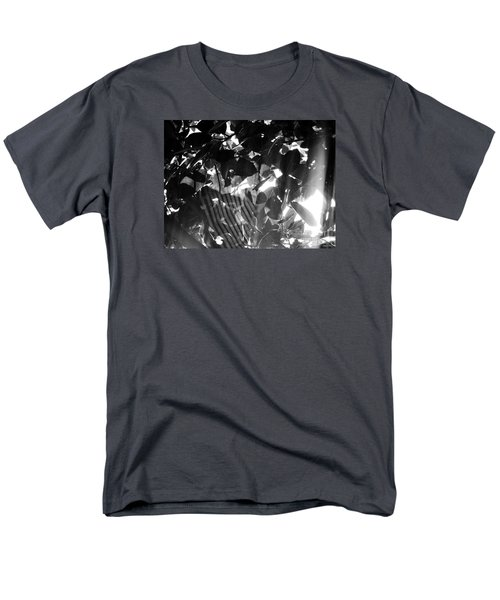 Men's T-Shirt  (Regular Fit) featuring the photograph Bw Spider Phenomena by Megan Dirsa-DuBois