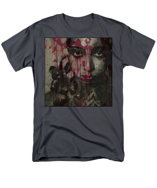 Men's T-Shirt  (Regular Fit) featuring the painting Bye Bye Blackbird by Paul Lovering