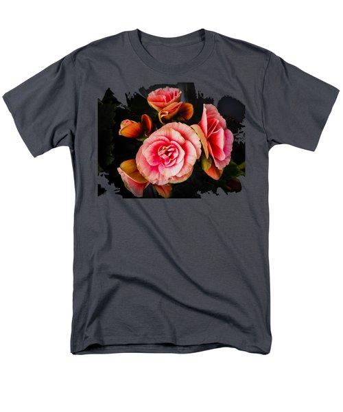 Bygone Begonias Men's T-Shirt  (Regular Fit) by Jennifer Kohler