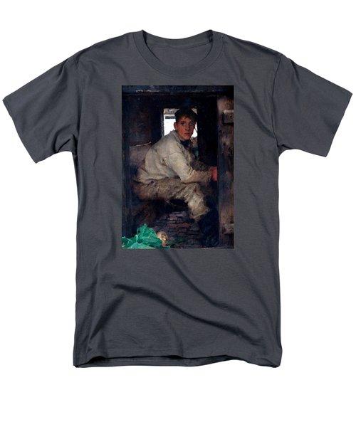 Cabin Boy Men's T-Shirt  (Regular Fit) by Henry Scott Tuke