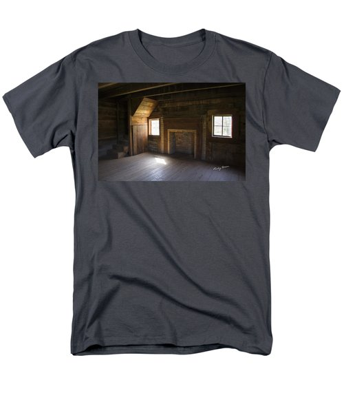 Cabin Home Men's T-Shirt  (Regular Fit) by Ricky Dean