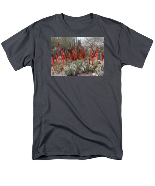 Cactus And Glass Men's T-Shirt  (Regular Fit) by Elvira Butler