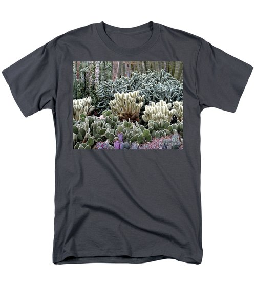 Cactus Field Men's T-Shirt  (Regular Fit) by Rebecca Margraf