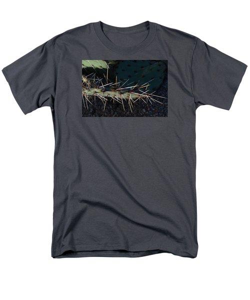 Men's T-Shirt  (Regular Fit) featuring the photograph Cactus San Tan 10 by Carolina Liechtenstein