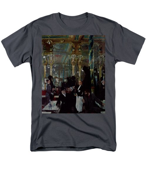Cafe Royal, London, 1912 Men's T-Shirt  (Regular Fit) by Sir William Orpen