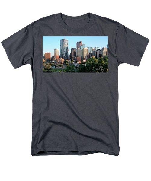 Calgary 2 Men's T-Shirt  (Regular Fit) by Victor K