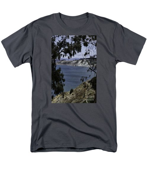 Men's T-Shirt  (Regular Fit) featuring the photograph Cali Shore by Judy Wolinsky