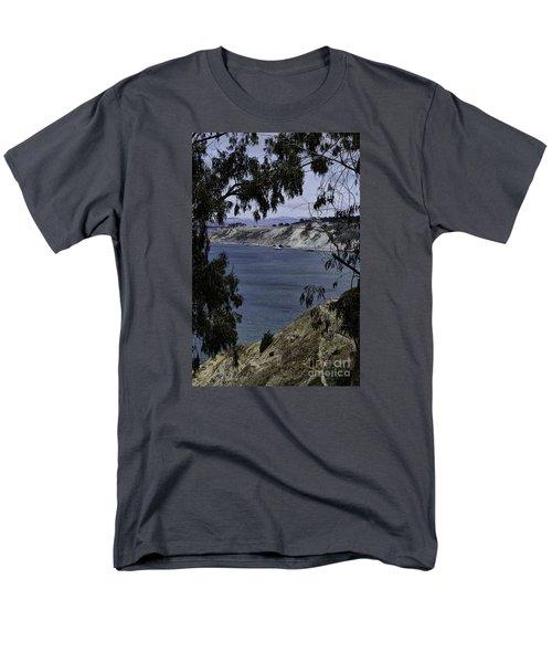 Cali Shore Men's T-Shirt  (Regular Fit) by Judy Wolinsky