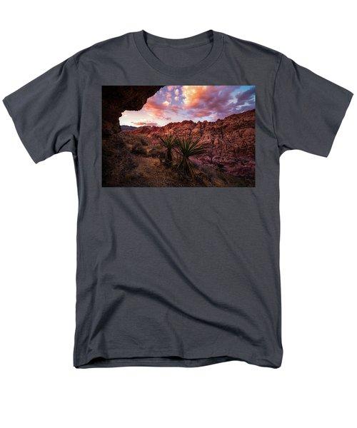 Calico Sunset Men's T-Shirt  (Regular Fit) by Bjorn Burton