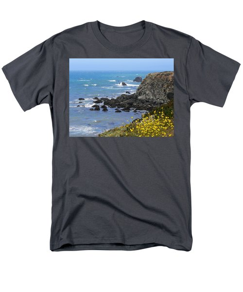 California Coast Men's T-Shirt  (Regular Fit) by Laurel Powell