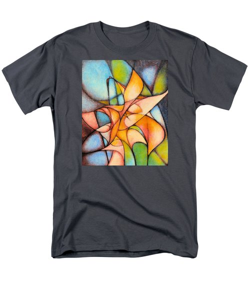 Calla Lillies Men's T-Shirt  (Regular Fit) by Kevin Lawrence Leveque