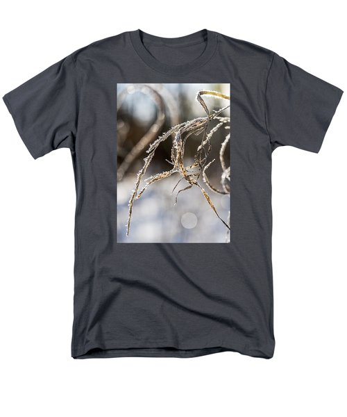 Men's T-Shirt  (Regular Fit) featuring the photograph Calligraphy In The Grass by Annette Berglund