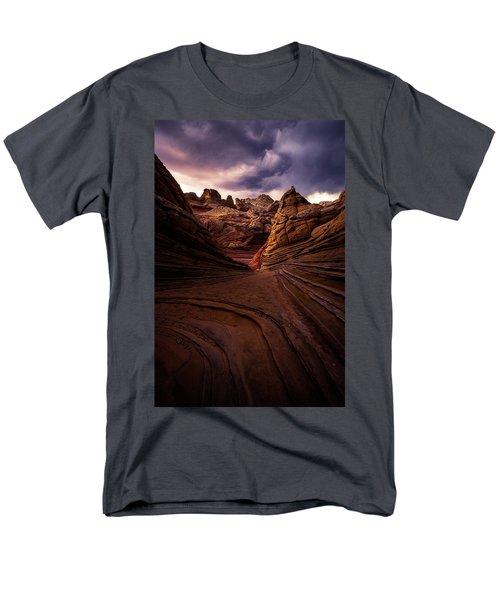 Calm Before The Storm Men's T-Shirt  (Regular Fit) by Bjorn Burton