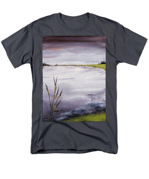 Calmer Water Men's T-Shirt  (Regular Fit) by Carolyn Doe