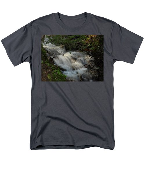 Calming Stream Men's T-Shirt  (Regular Fit) by DeeLon Merritt