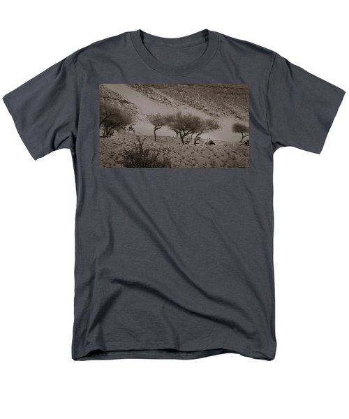 Camels Men's T-Shirt  (Regular Fit) by Silvia Bruno