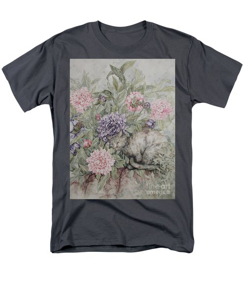 Camouflaged Men's T-Shirt  (Regular Fit) by Kim Tran