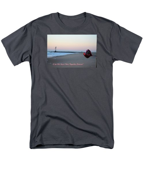 Can We Stay Here... Men's T-Shirt  (Regular Fit) by Robert Banach