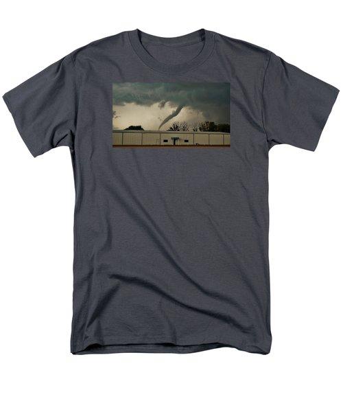 Canadian Tx Tornado Men's T-Shirt  (Regular Fit) by Ed Sweeney