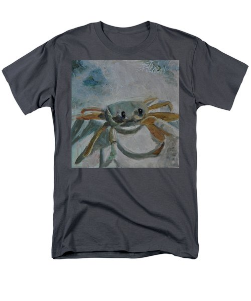 Men's T-Shirt  (Regular Fit) featuring the painting Cancer's Are Not Crabby by Billie Colson