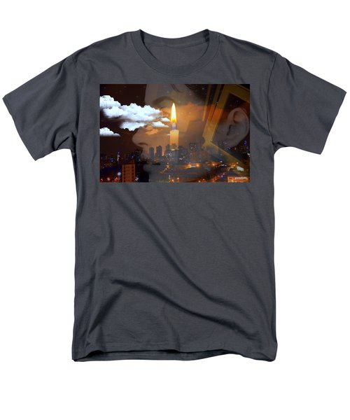 Candle Flame Men's T-Shirt  (Regular Fit) by Paulo Zerbato