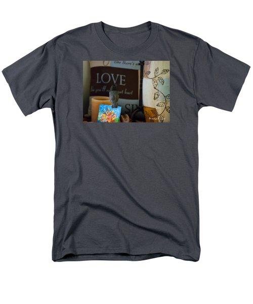 Canto De Amor... Men's T-Shirt  (Regular Fit) by Edgar Torres