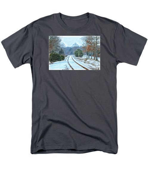 Cape Cod Rail And Trail Men's T-Shirt  (Regular Fit) by Constantine Gregory