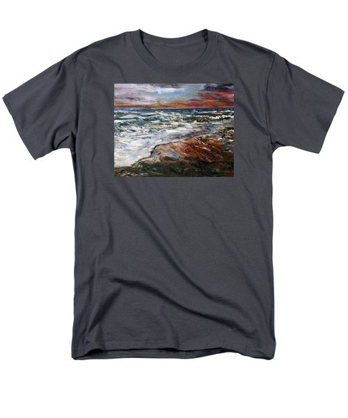 Cape Cod Sunset 1 Men's T-Shirt  (Regular Fit) by Michael Helfen