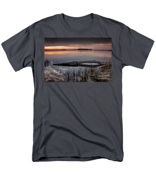 Cape Fear Sunset Serenity Men's T-Shirt  (Regular Fit) by Phil Mancuso