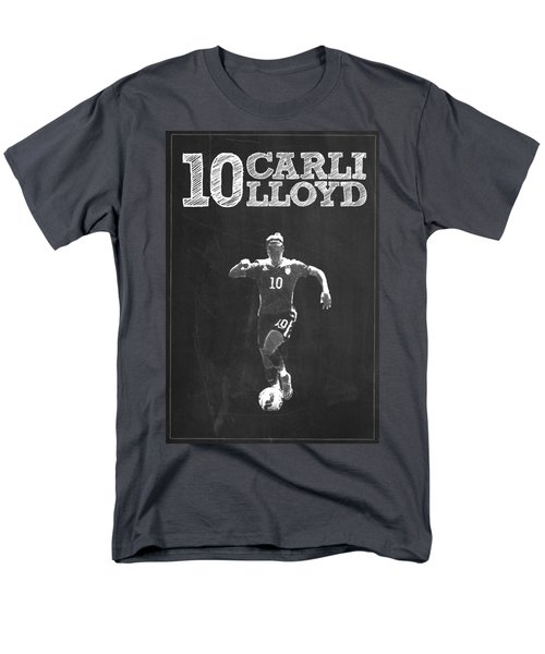 Carli Lloyd Men's T-Shirt  (Regular Fit) by Semih Yurdabak