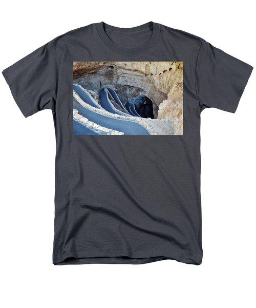 Carlsbad Caverns Natural Entrance Men's T-Shirt  (Regular Fit) by Kyle Hanson