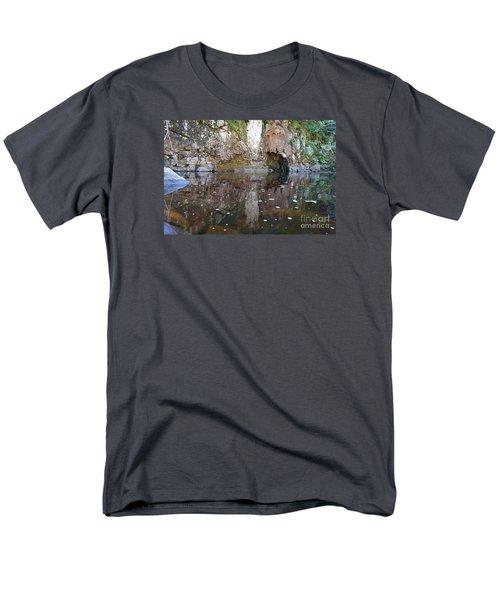 Men's T-Shirt  (Regular Fit) featuring the photograph Carlson Creek by Sandra Updyke