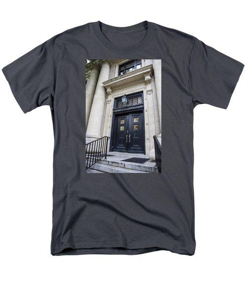 Carnegie Building Penn State  Men's T-Shirt  (Regular Fit) by John McGraw
