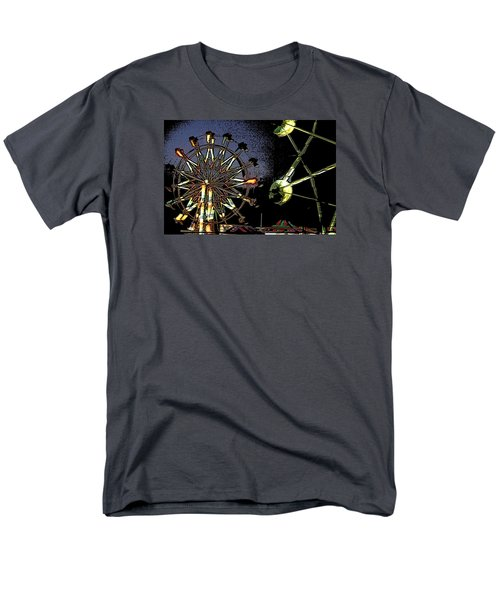 Men's T-Shirt  (Regular Fit) featuring the photograph Carnival by Donna G  Smith