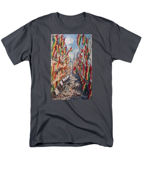 Carnival In The Grote Gracht In Maastricht Men's T-Shirt  (Regular Fit) by Nop Briex