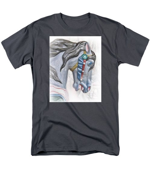 Carousel Star Men's T-Shirt  (Regular Fit) by David and Carol Kelly
