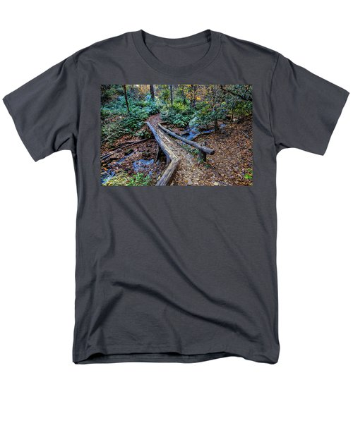 Carpet Of Leaves Men's T-Shirt  (Regular Fit) by Dale R Carlson