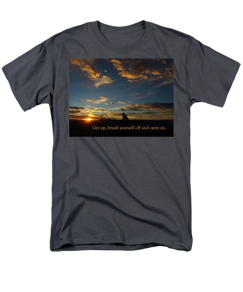 Carry On Sunrise Men's T-Shirt  (Regular Fit) by DeeLon Merritt