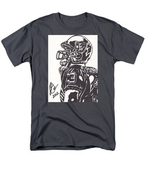 Men's T-Shirt  (Regular Fit) featuring the drawing Carson Palmer 1 by Jeremiah Colley