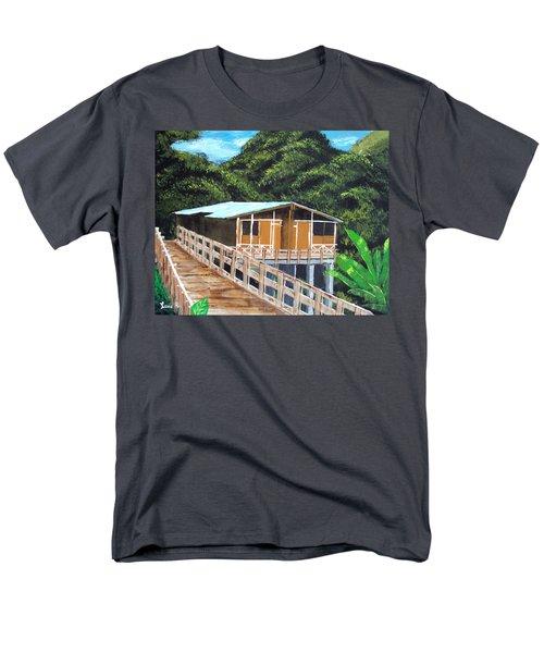 Casa Grande Men's T-Shirt  (Regular Fit) by Luis F Rodriguez
