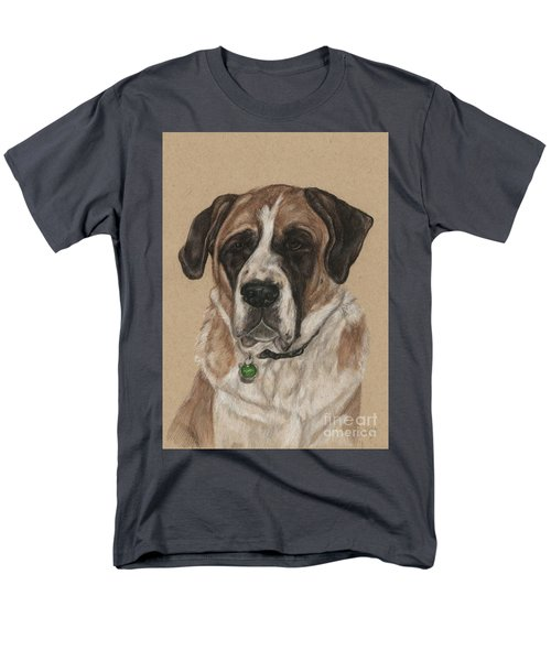 Men's T-Shirt  (Regular Fit) featuring the drawing Casey  by Meagan  Visser