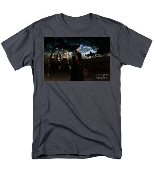Men's T-Shirt  (Regular Fit) featuring the digital art Casquette Brides Arrival by Shanina Conway